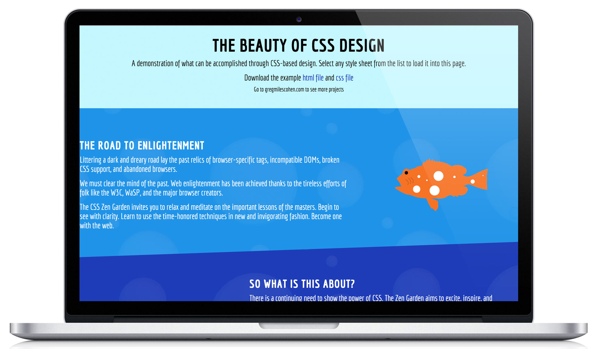 technologies used css illustrator - Css Zen Garden